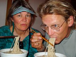 Jade Buddha Long Life Noodles, Shanghai, 2005